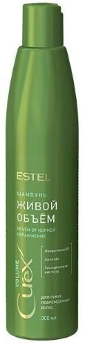 Купить Curex volume шампунь живой объем для сухих и поврежденных волос 300мл цена
