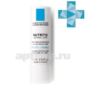 Купить Nutritic levres питательный бальзам для глубокого восстановления кожи губ4.7 мл цена