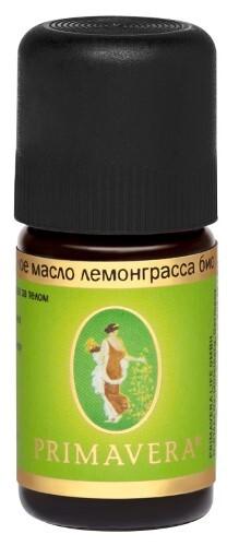 Купить Масло эфирное лемонграсса био 5мл/примавера лайф цена