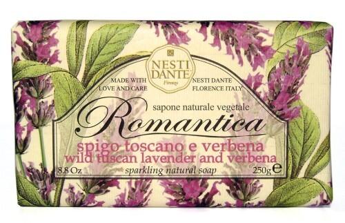 Купить Romantica мыло тосканская лаванда и вербена 250,0 цена