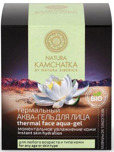 Купить Термальный аква-гель для лица «моментальное увлажнение кожи» 50мл цена