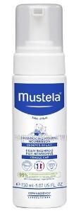 Купить Мустела шампунь-пенка от молочных корочек для новорожденных 150мл цена