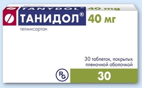 Купить ТАНИДОЛ 0,04 N30 ТАБЛ П/ПЛЕН/ОБОЛОЧ цена