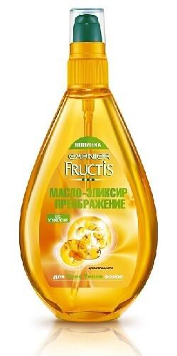 Купить Fructis тройное восстановление масло-эликсир преображение 150мл цена