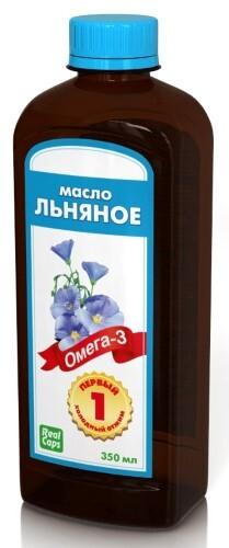 Купить Льняное масло первый холодный отжим 350мл цена