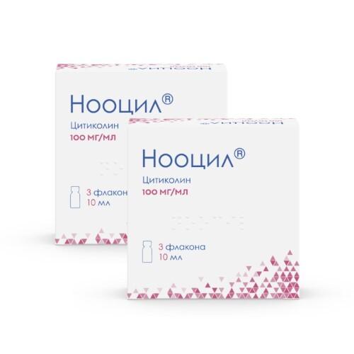 Купить Нооцил 0,1/мл 10мл n3 флак р-р д/приема внутрь /1+1/ цена
