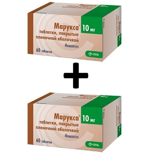 Купить Набор из 2 упаковок марукса 0,01 n60 табл п/плен/оболоч по специальной цене цена