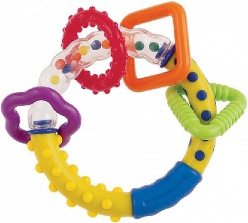 Купить Погремушка разноцветные колечки 0+ цена