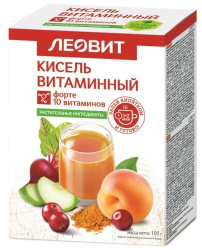 Кисель диетический витамин форте 20,0 n5 пак