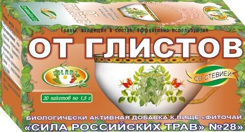Купить Фиточай сила российских трав n28 цена