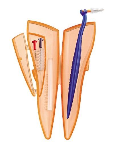 Ершики межзубные cps ortho pocket set/набор с держателем и воском