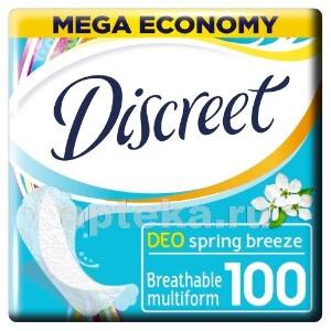 Купить Deo multiform весенний бриз ежедневные гигиенические прокладки n100 цена
