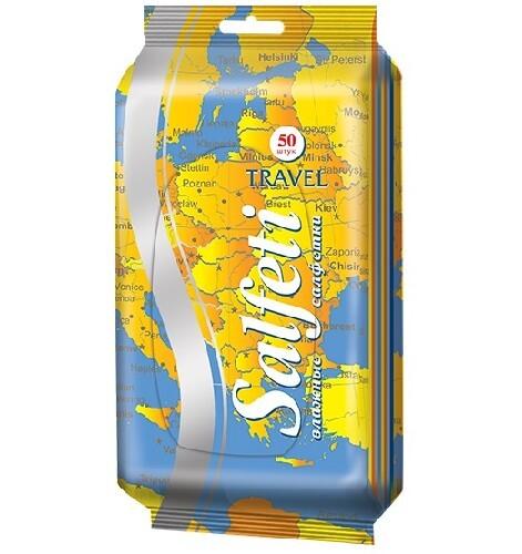 Купить Travel салфетки влажные очищающие n50 цена