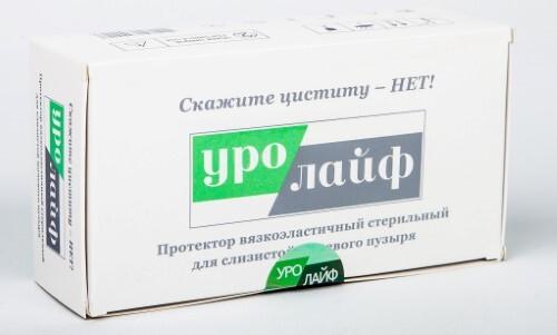 Купить Уролайф протектор вязкоэластичный стер д/слизистой мочевого пузыря цена