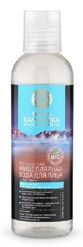 Купить Очищающая мицеллярная вода для лица с маслами 200мл цена