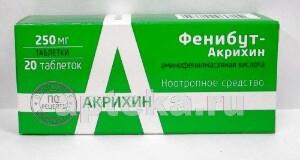 Купить Фенибут-акрихин цена