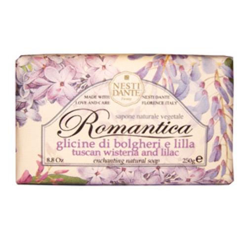 Купить Romantica мыло глициния и сирень 250,0 цена