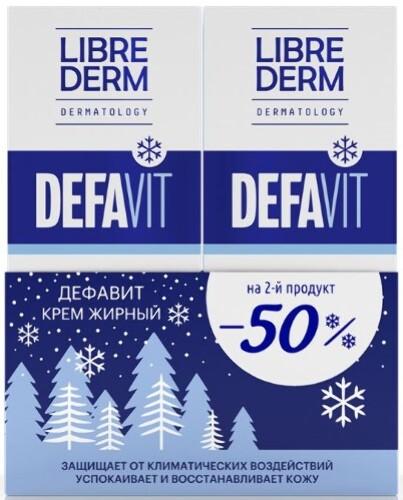 Купить Дефавит крем восстан успок жирный 50мл/1+1/ цена