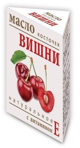 Купить Масло косточек вишни натуральное с витамином е 15мл цена