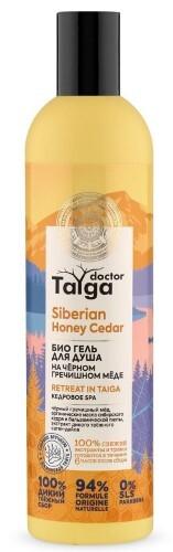 Купить Doctor taiga гель для душа био кедровое spa 400мл цена