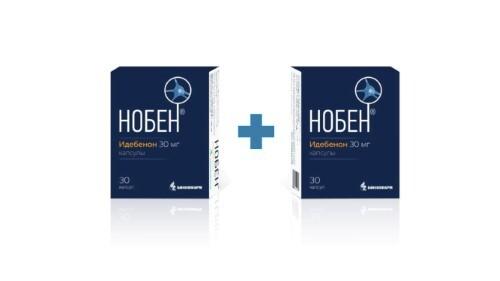 Купить Набор нобен 0,03 n30 капс/биннофарм закажи 2 упаковки со скидкой 10% цена