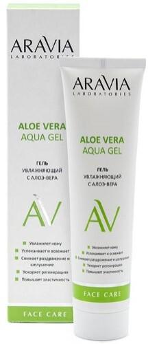 Купить Увлажняющий гель с алоэ-вера aloe vera aqua gel 100мл цена