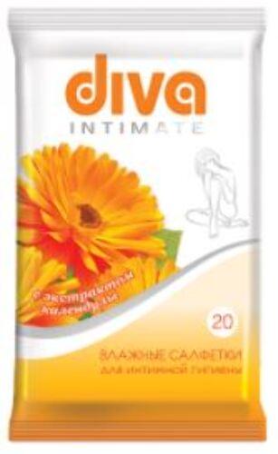 Купить Intimate салфетки для интимной гигиены с экстрактом календулы n20 цена
