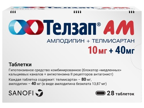 Купить Телзап ам 0,01+0,04 n28 табл цена