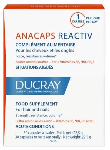 Купить Anacaps reactiv д/волос и ногтей n30 цена