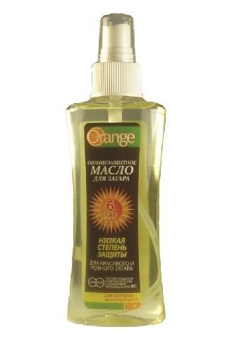 Купить Солнцезащитное масло для загара spf 6 100мл цена