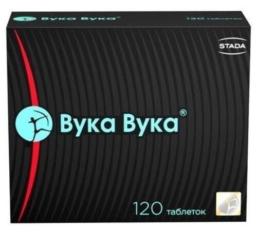 Купить ВУКА-ВУКА N120 ТАБЛ МАССОЙ 0,55 цена