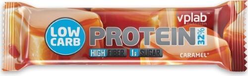 Купить Вплаб лоу карб протеин бар батончик со вкусом карамели 35,0 цена