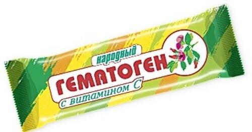 Купить Гематоген народный с витамином с цена