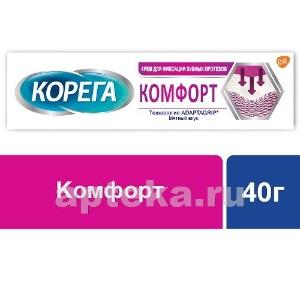 Купить Крем для фиксации зубных протезов комфорт 40,0 цена