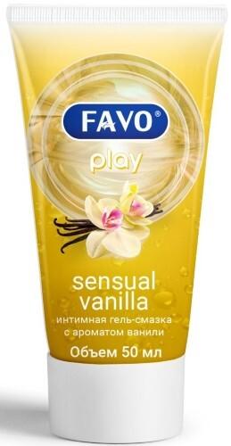 Купить Гель-смазка интимная чувственная ваниль 50мл цена