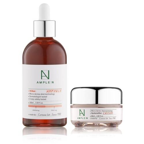 Купить Hyaluron shot набор amplen восстановление сияния кожи с витаминами красоты - со скидкой 15% цена