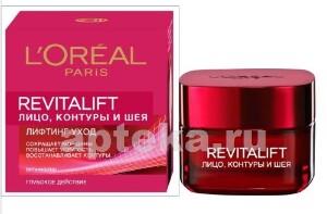 Купить Paris revitalift лицо контуры и шея 50мл цена