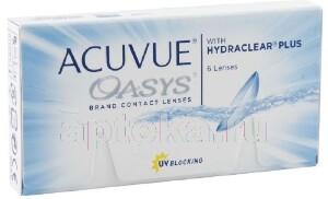 Купить Oasys with hydraclear plus двухнедельные контактные линзы цена