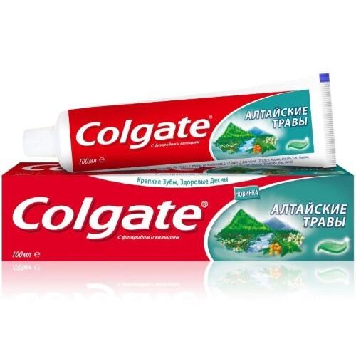 Купить Алтайские травы зубная паста 100мл цена