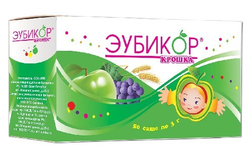 Купить ЭУБИКОР КРОШКА 3,0 N50 САШЕ/БАД/ цена