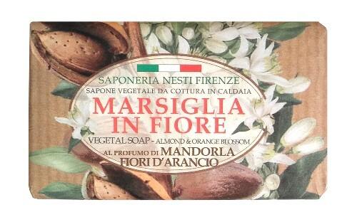Купить Marsiglia in fiore мыло миндаль и цветы апельсина 125,0 цена