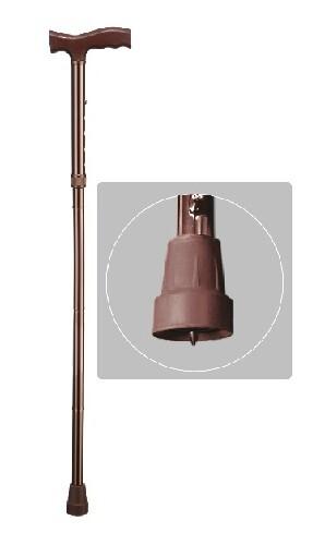 Трость wr-411/бронза/ встроенное против гололедное устройство