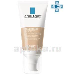 Купить La roche-posay toleriane sensitive le teint тонирующий увлажняющий крем для чувствительной кожи 50мл/светлый цена