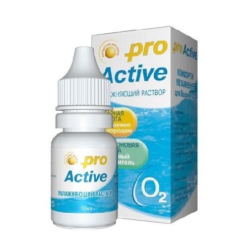 Купить Pro active увлажняющий раствор для контактных линз цена