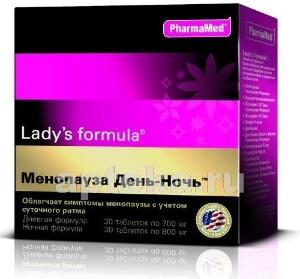 Купить Леди-с формула менопауза день-ночь цена
