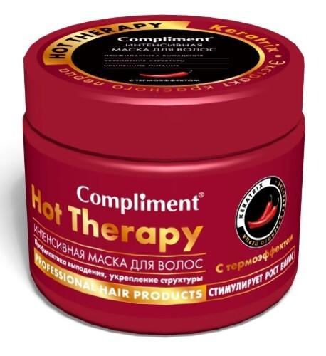 Купить Маска для волос интенсивная hottherapy профилактика выпадения укрепление структуры с термоэффектом 500мл цена