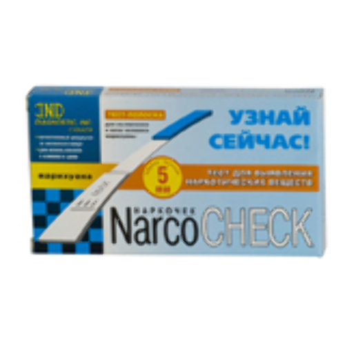 Купить Тест-полоска narcocheck марихуана цена