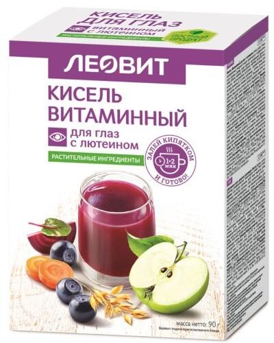 Купить Кисель диетический витамин с лютеин для глаз n5 пак цена
