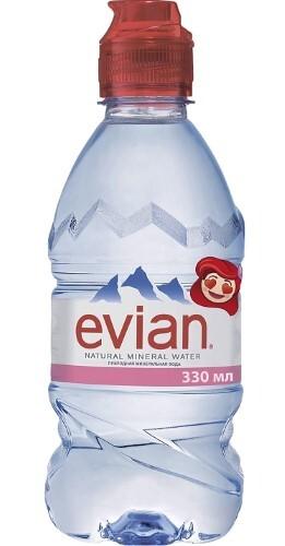 Вода питьевая негазированная для детского питания от 6 мес 0,33л
