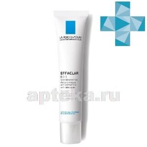 Effaclar к(+) корректирующая эмульсия для жирной кожи 40мл